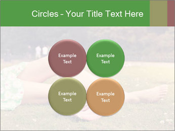 Woman Rests On Grass PowerPoint Template - Slide 38