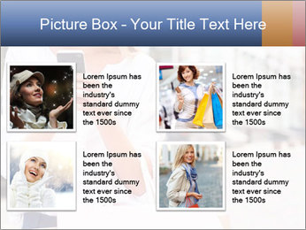 Woman Writes Message PowerPoint Template - Slide 14