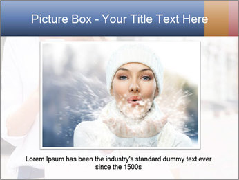 Woman Writes Message PowerPoint Template - Slide 15