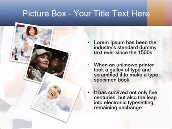 Woman Writes Message PowerPoint Template - Slide 17