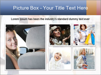 Woman Writes Message PowerPoint Template - Slide 19