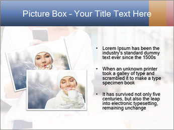 Woman Writes Message PowerPoint Template - Slide 20