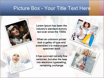 Woman Writes Message PowerPoint Template - Slide 24