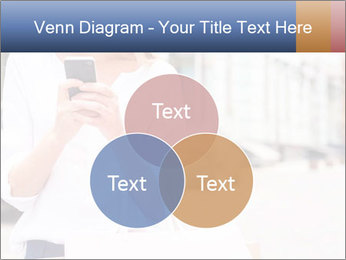 Woman Writes Message PowerPoint Template - Slide 33