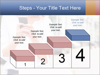 Woman Writes Message PowerPoint Template - Slide 64