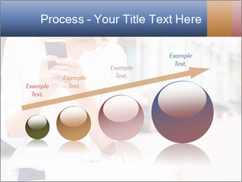 Woman Writes Message PowerPoint Template - Slide 87