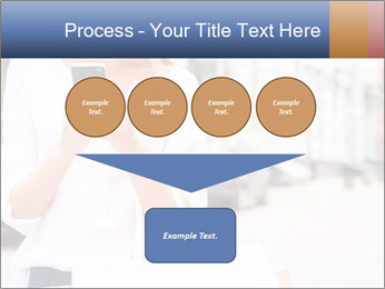 Woman Writes Message PowerPoint Template - Slide 93