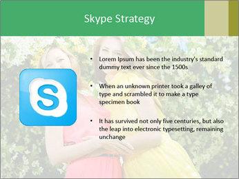 Two Mature Women PowerPoint Templates - Slide 8