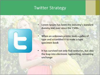 Two Mature Women PowerPoint Templates - Slide 9