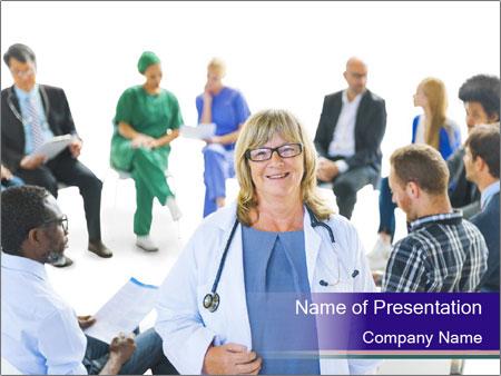 Hospital Stuff PowerPoint Template