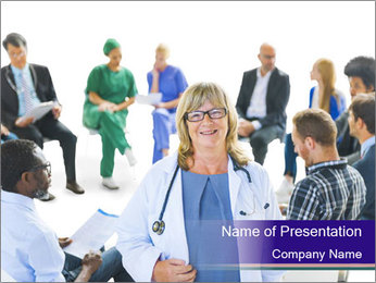 Hospital Stuff PowerPoint Template - Slide 1