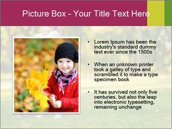 Sisters In City Park PowerPoint Template - Slide 13