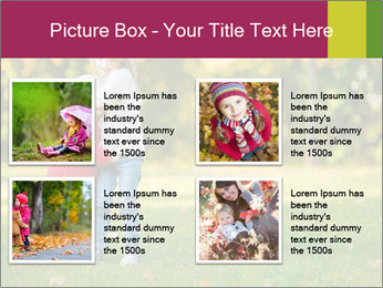 Sisters In City Park PowerPoint Template - Slide 14