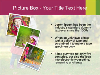 Sisters In City Park PowerPoint Template - Slide 17