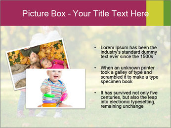 Sisters In City Park PowerPoint Template - Slide 20