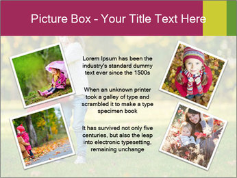 Sisters In City Park PowerPoint Template - Slide 24