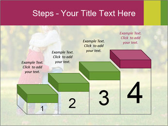 Sisters In City Park PowerPoint Template - Slide 64