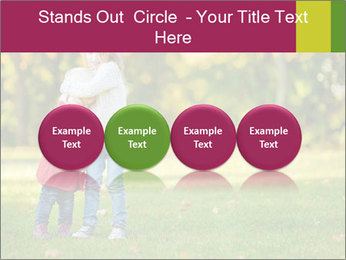 Sisters In City Park PowerPoint Template - Slide 76