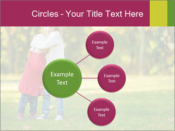Sisters In City Park PowerPoint Template - Slide 79