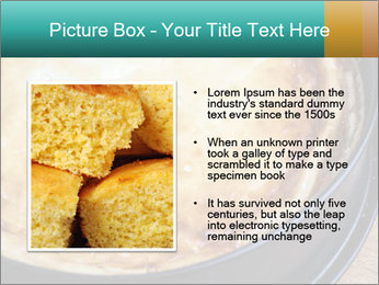 Warm home-made cheesecake PowerPoint Template - Slide 13