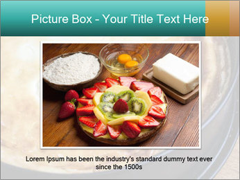 Warm home-made cheesecake PowerPoint Template - Slide 16