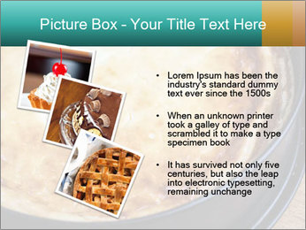 Warm home-made cheesecake PowerPoint Template - Slide 17