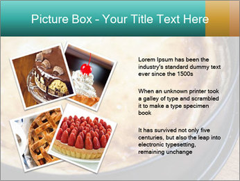 Warm home-made cheesecake PowerPoint Template - Slide 23