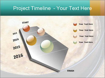 Warm home-made cheesecake PowerPoint Template - Slide 26