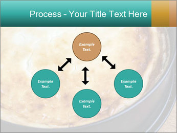 Warm home-made cheesecake PowerPoint Template - Slide 91