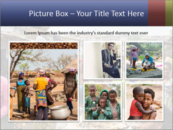 Ghanaian people at the market PowerPoint Template - Slide 19