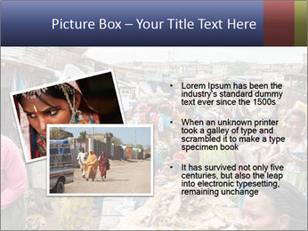 Ghanaian people at the market PowerPoint Template - Slide 20