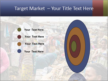 Ghanaian people at the market PowerPoint Template - Slide 84
