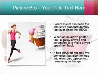 Woman handcuffed PowerPoint Template - Slide 13