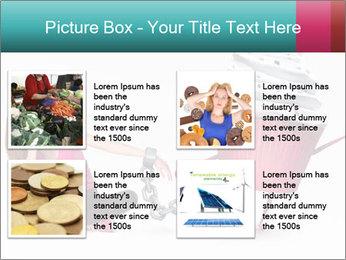 Woman handcuffed PowerPoint Template - Slide 14
