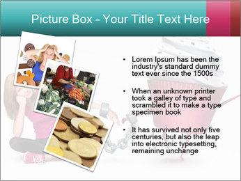 Woman handcuffed PowerPoint Template - Slide 17