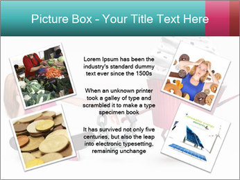 Woman handcuffed PowerPoint Template - Slide 24