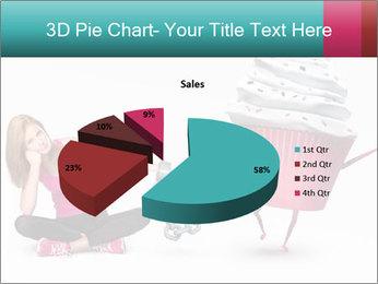 Woman handcuffed PowerPoint Template - Slide 35