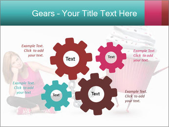 Woman handcuffed PowerPoint Template - Slide 47