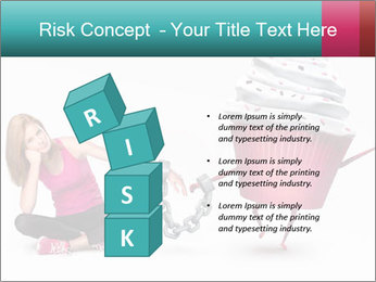 Woman handcuffed PowerPoint Template - Slide 81
