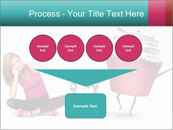 Woman handcuffed PowerPoint Template - Slide 93