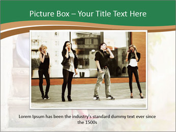 Fashionable woman PowerPoint Template - Slide 16