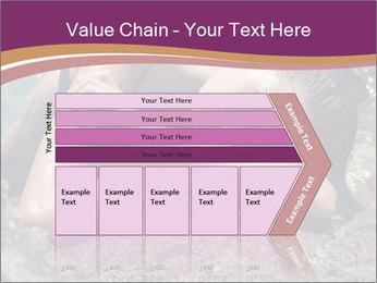Carefree beautiful brunette PowerPoint Template - Slide 27