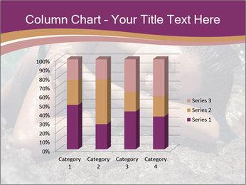 Carefree beautiful brunette PowerPoint Template - Slide 50
