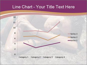 Carefree beautiful brunette PowerPoint Template - Slide 54