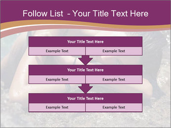 Carefree beautiful brunette PowerPoint Template - Slide 60