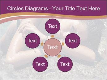 Carefree beautiful brunette PowerPoint Template - Slide 78
