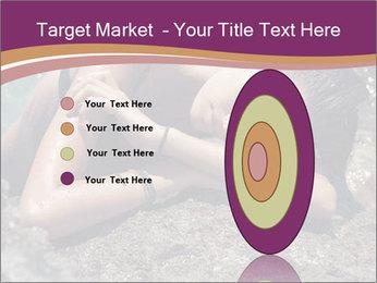 Carefree beautiful brunette PowerPoint Template - Slide 84