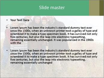 Multi Generation Family PowerPoint Template - Slide 2