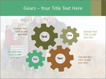 Multi Generation Family PowerPoint Template - Slide 47
