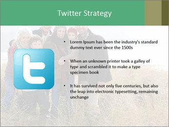 Multi Generation Family PowerPoint Template - Slide 9